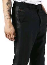DIESEL P-Dream gr W 36 hose  edel np 279,-€ black anzugshose seitenstreifen pant