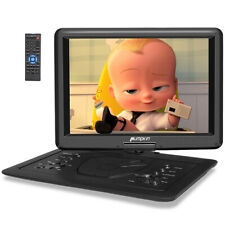 "16"" Portable DVD Player for Car 270°Swivel Screen 1366*768 HDMI USB SD AV-IN/OUT"