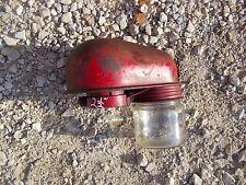 Farmall 400 450 Sm Mta Ih tractor glass jar precleaner top topper pre cleaner