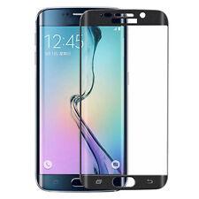 Schwarz Für Samsung Galaxy S6 Edge 3D Curved Schutz folie Panzerglas Schutzglas