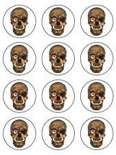 Halloween Decorations Black Acrylic Skull Etc Halloween Cake Fancy Part K9Y2 10X