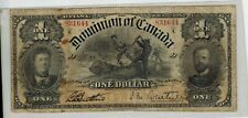 Canada 1898 The Dominion of Canada $1 Banknote - Fine -