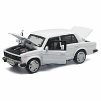 1/32 Scale VAZ Lada 2106 Model Car Alloy Diecast Gift Toy Vehicle Kid Gift White