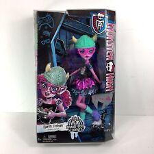 Monster High Kjersti Trollson Brand Boo Student doll accessories gamer 2015