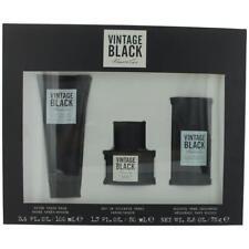 Kenneth Cole Vintage Black Cologne 3 Piece Gift Set men NEW