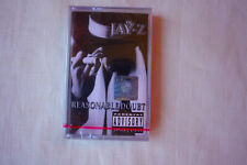 Jay-Z ‎– Reasonable Doubt  Cassette, MC Sealed 1996  Rare