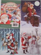 """Hunkydory 24 Card Toppers """"Father Christmas""""see pictures please read description"""