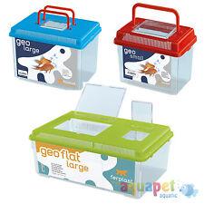 Ferplast Geo Plastic Insect Fish Spider Tank Small Medium Large Maxi Flat