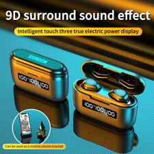 5.1 auricular Bluetooth TWS Audífonos Inalámbricos Auriculares Auriculares Estéreo Dual Mini