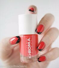 New! KHROMA Kardashian Nail Polish Lacquer in SIREN Sirene 816 Bright Coral Red!