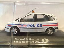 RENAULT SCENIC POLICE NATIONALE 2002 SCALE 1/43