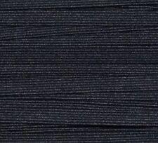 Premium Braided Elastic -6mm Black Per 5 Metres