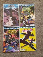 Batgirl and the Birds of Prey Rebirth 1 2 DC Comics & Batgirl #2 4 comic lot