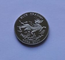 Korea 1 Won 2000, Blue Dragon - VERY RARE COIN, ONLY 300 COINS WORLDWIDE