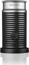 Nespresso  Aeroccino 3 Electric Milk Frother Warmer, Black 3594-US-BK