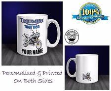 Triumph Tiger 1050 Motorbike Personalised Ceramic Mug Gift (MB049)