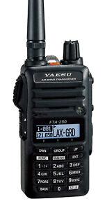 Yaesu Handheld Comm Only Radio w/Li-Ion Battery FTA-250L