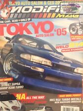 Modified Mag Magazine Tokyo Auto Salon & Weld S14 April 2005 SEALED 020418nonrh