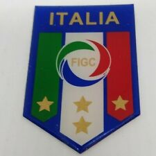 Italian Italia Football Badge Azzurri Four Gold Star version World Cup