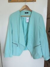 Blazer Polyester Hip Length Casual Coats & Jackets for Women