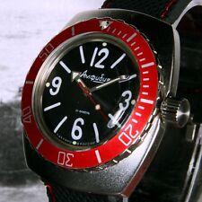 Vostok Amphibia, RETTILI Custom RUSSO Dive Watch, NUOVO, INSCATOLATO, UK Venditore