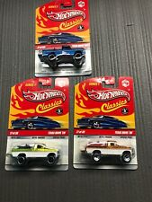 3 Hot Wheels Classics Series 5 Texas Drive Em Color Variant