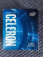 Intel Celeron G3900 LGA1151 2.8Ghz 2Mb Cache Dual Core Processor  New in Box