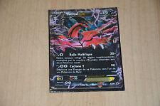 Carte Pokemon YVELTAL  Ex Pv 170 + Pochette protectrice / XY08