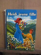 Johanna Spyri: Heidi jeune fille/ Flammarion, 1958