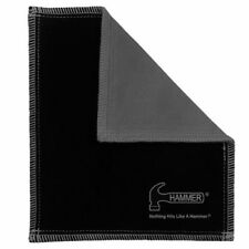Hammer Bowling Shammy BLACK/CARBON Leather Oil Removing Pad