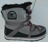 Sorel Glacy Explorer Shortie Women's Winter Boot NL2079/053 Quarry NEW