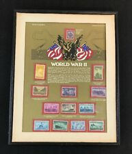 World of Stamps Series Stamps of the United States Collection World War II USA