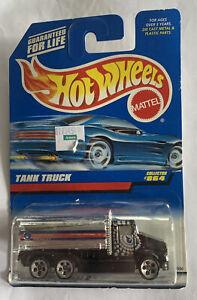 Hot Wheels 1997 Collector #864 Tank Truck Chrome New Sealed Mattel Wheels