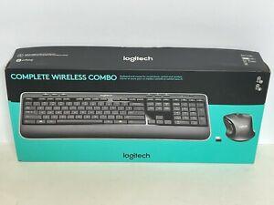 Logitech MK530 Advanced Wireless Keyboard and Optical Mouse Combo - Black