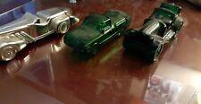 Lot of 3 Vintage Avon Cologne After Shave Decanter Bottles Cars Automobiles