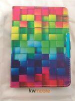 PU Leder Case Für Tolino Vision 1/2/3/4 HD Rainbow Cubes Neu Kwmobile