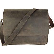 AXEL DAVID Umhängetasche Schultertasche Leder Tasche BRASIL Laptop Aktentasche