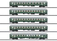 """Märklin H0 43935 Schnellzugwagen-Set 1 """"D96 Isar-Rhone"""" Insidermodell NEU + OVP"""