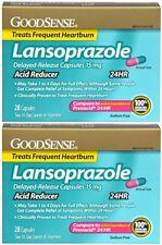 Lansoprazole DR 15 mg Acid Reducer Generic for Prevacid 24 HR 56 Capsules