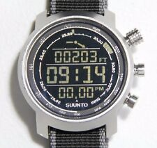 Suunto Elementum Terra Premium Compass Altimeter Stainless Steel Outdoor Watch