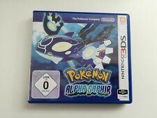 Nintendo 3DS Pokemon Alpha Saphir mit OVP *getestet* - SEHR GUT