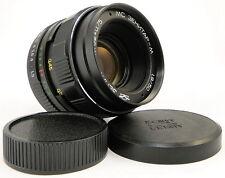 Virtually NEW! MC KMZ ZENITAR-M 50mm f/1.9 Russian USSR Lens Screw Mount M42