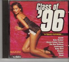 (FP435) Class of '96, 14 tracks various artists - Maxim Jan 1997 CD