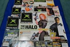 Official XBox Magazine ~ June - December 2002 ~ Issues 7 - 13 (Lot of 7 Mags)