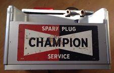 Vintage Champion Spark Plug Service Tester & Cleaner~Automotive Shop~Untested