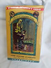 A Series of Unfortunate Events The Austere Academy Bk 5 Lemony Snicket NEW TAPES
