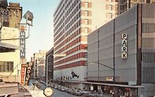 7th St. Looking East Radisson Hotel Street Scene  Minneapolis,MN 1960's Postcard