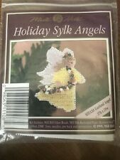 Mill Hill Beaded Cross Stitch Kit Holiday Sylk Angels Garland Angel MHAS8