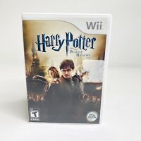 Harry Potter and the Deathly Hallows: Part 2 (Nintendo Wii, 2011) Complete CIB