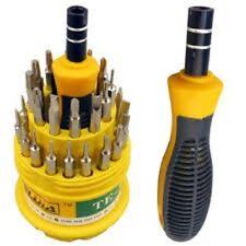 New31 en 1 Mini Destornillador de precisión conjunto de herramientas de reparación de Estrella Torx Hexagonal móvil/PC